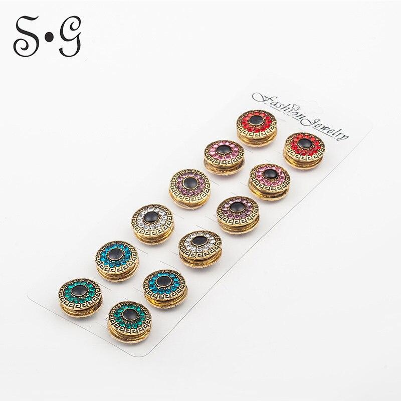 12pcs/dozen scarf pin strong magnet hijab safety khaleeji pin hijab accessories fashion fix pin