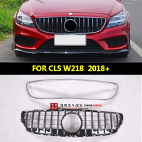 Racing Grille suitable for NEW CLS class W218 GT R GTR Grille Diamond Grille 2018+ W218 Grille without emblem