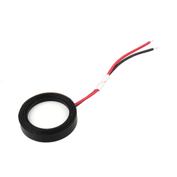 Kreative 1x25mm Fogger Keramik Discs w/Draht Dicht Ring Ultraschall Nebel Maker-in Luftbefeuchter Teile aus Haushaltsgeräte bei