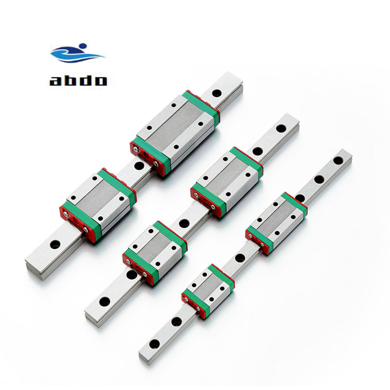 Image 5 - High quality 2PCS MGN12H MGN12C linear bearing sliding block match use with MGN12 linear guide for cnc xyz diy engraving machineLinear Guides   -