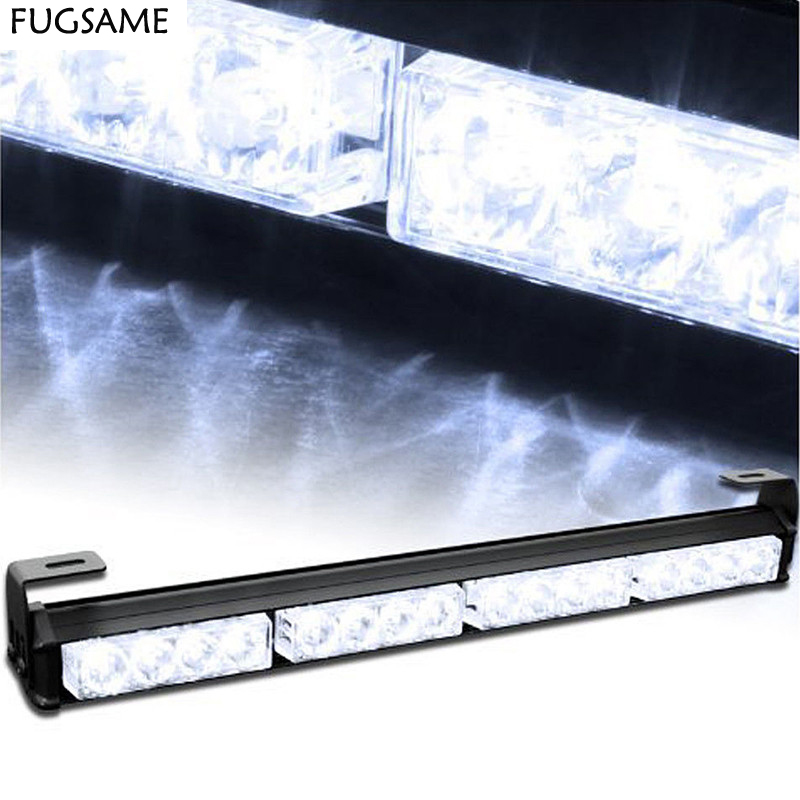 FUGSAME FREE SHIPPING Factory Direct High Power 16 LED Emergency 1W Strobe Light  WHITE 1w led bulbs high power 1w led lamp pure white warm white 110 120lm 30mil taiwan genesis chip free shipping