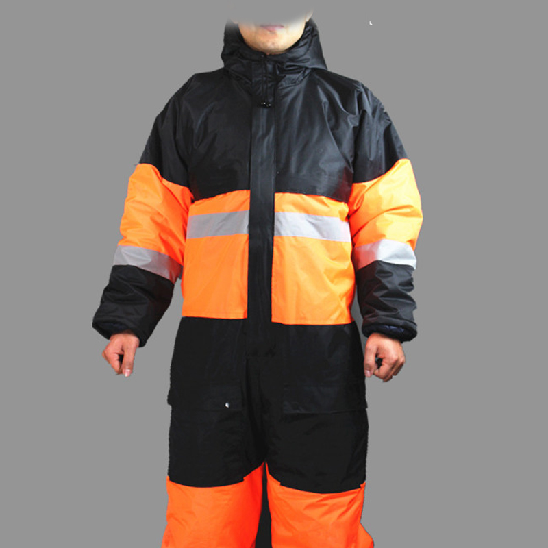New Winter Working Clothing Outdoors Thermal Protection Uniforms Mens Cotton Wadded Padded Safety Clothing Thick Warm Work Wear ...