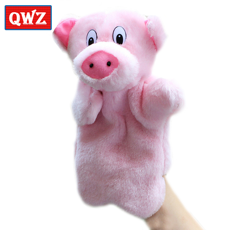 Dolls & Stuffed Toys Wooden Pig Puppet Toys Marionette Theatre Kids Children Educational Plush Dolls Line Doll Novelty Toy Toys & Hobbies