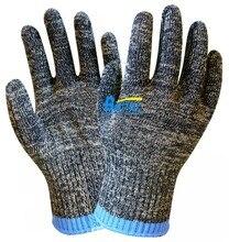 Высоких частот опасность для штамповки стекло обработки рабочая перчатка мясник перчатки арамидных волокон анти-вырезать безопасность перчатки