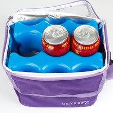 600 мл синяя ледяная сумка может повторно использовать водяную инъекцию холодильного молока свежести двойной охладитель для лица мешок большой емкости