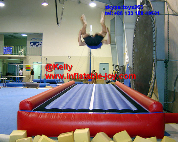 Free Shipping Cheap Inflatable Air Tumble Track For Sale