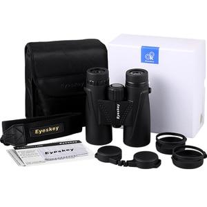 Image 5 - Jacht Verrekijker 8X42 Eyeskey Verrekijker Waterdicht Telescoop Bak4 Prisma Camping Jacht Scopes Met Neck Strap Antislip