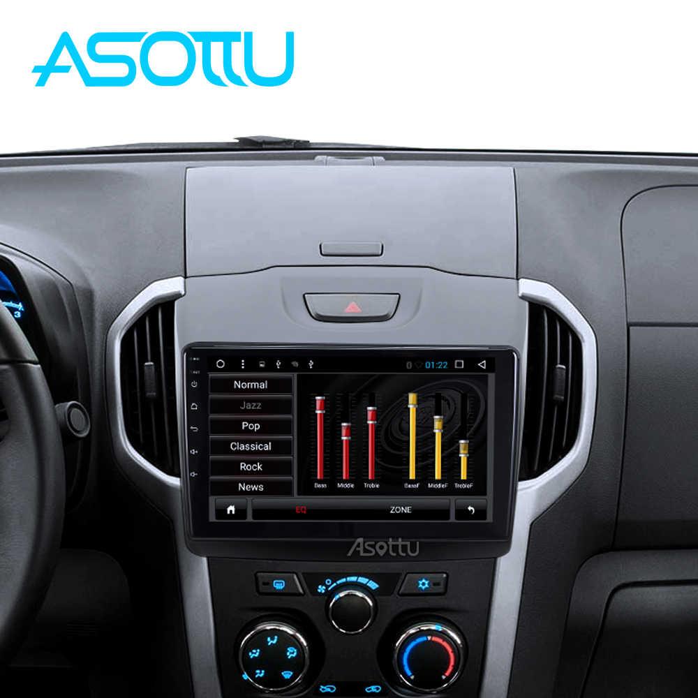 Asottu アンドロイド 8.1 カー dvd gps プレーヤーのためにシボレー S10 いすゞ D-MAX 2015-2018 カー Dvd プレーヤーラジオビデオプレーヤーナビゲーション GPS