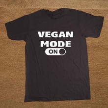 """Vegan Mode ON"" men's shirt / 9 Colors"
