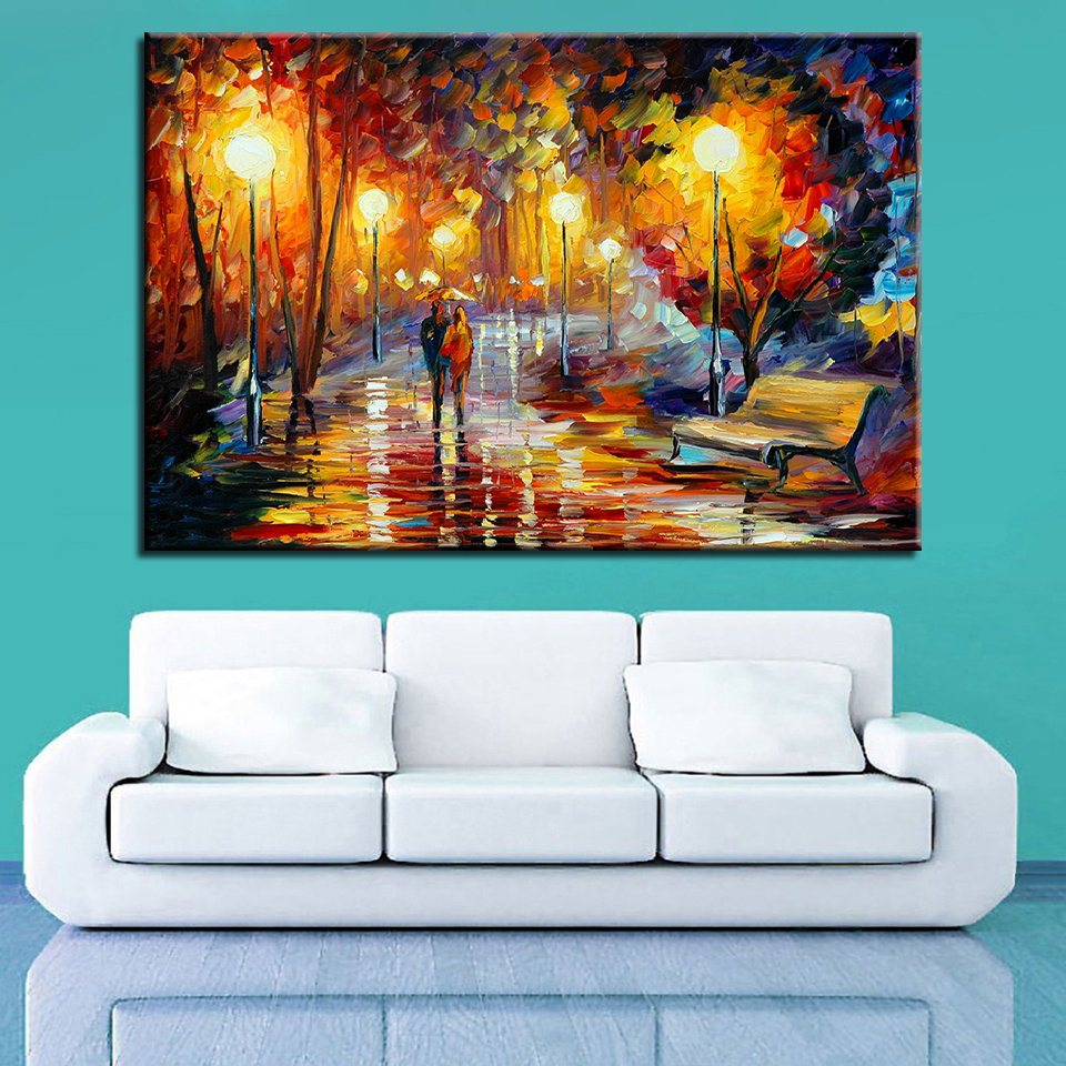 Newlywed Home Decor: Canvas Painting Picture HD Print Wall Art Home Decor 1Pcs
