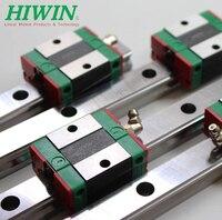2 piece CNC  HIWIN HGR 1000mm length linear guideway 4 pieces HGH20CA carriage blocker