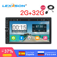 2Din Car Multimedia Player universal 2G+32G Car Radio Stereo Bluetooth GPS Audio Video Android MP3 MP4 WiFi 7 HD Touch 1024*600