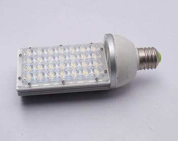 цены 2018 Free Shipping:2pcs/lot 28w Led Street Light With E27,e39/40 Base ,rotation 360 Degress,ac85-265v Input Voltage,ce Rohs.