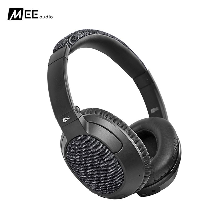 24 hours ship MEE Audio MATRIX3 AF68 Stereo Wireless Bluetooth Headphone With Mic Noise Cancelling Over-Ear Headset for Iphone 8 mee audio matrix3 af68 stereo wireless bluetooth headphones with microphone active noise cancelling headset headphone for phone