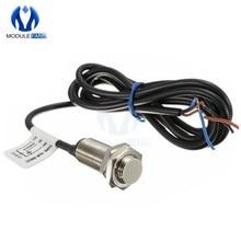 NJK-5002C sensor de efeito hall interruptor de proximidade npn 3-fios normalmente aberto + magne linha ímã 6v-36v dc diâmetro 12mm diy metal
