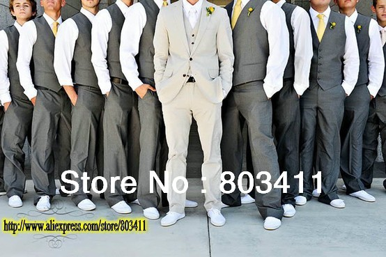 Free Shipping High Quality Men S Brand Wedding Suit Formal Tuxedo Jacket Pants Vest