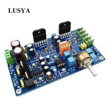 Dual OP Amp Board Preamp DC Amplification PCB for NE5532 OPA2134 OPA2604  AD826
