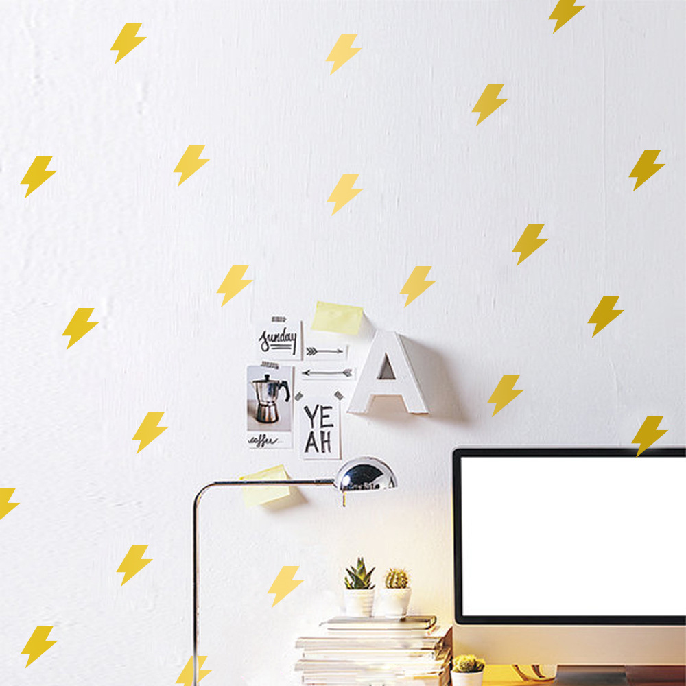 Buy lightning sticker and get free shipping on aliexpress amipublicfo Gallery