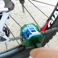 CYLION Bicycle Chain Wash Cleaner Cycling Chain Protector MTB Bike Multifunctional Tool Kit Set Washer Scrubber