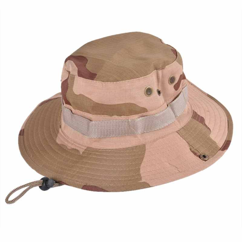 e208efa4f94e3 ... Men Tactical Airsoft Sniper Camouflage Boonie Hats Nepalese Cap Men  Military Hats Army Mens Military Sunscreen ...