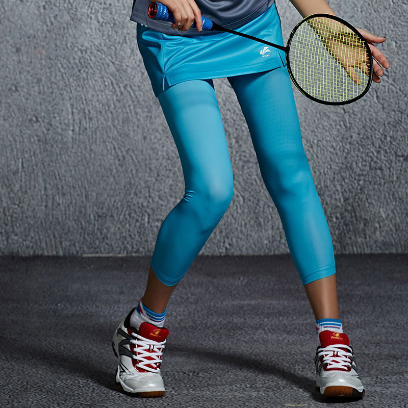 917d4ee96da79 Aliexpress.com : Buy Autumn and Winter Badminton Tennis Clothes Quick Dry  Breathable Badminton Long Pants Skirt Self cultivation Run Nine Pants from  ...