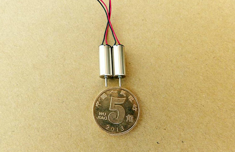 The model motor 6*14mm hollow cup motor 4.2V 47000 RPM high speed miniature DC motor DIY