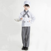 chef cosplay suit for children chef costume for kids chef halloween costume