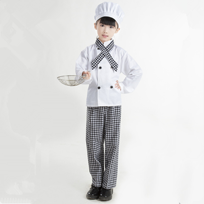 chef cosplay suit for children chef costume for kids chef halloween costume on. Black Bedroom Furniture Sets. Home Design Ideas