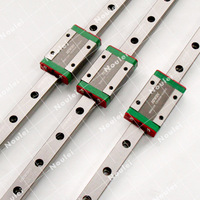 HIWIN MGN12Hบล็อกภาพนิ่งที่มีMGN12รถไฟคู่มือการเชิงเส้น300/350/500/600มิลลิเมตรสำหรับมินิCNCชุ