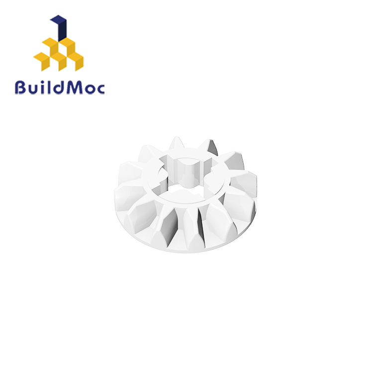 BuildMOC Compatible Assembles Particles 6589 For Building Blocks Parts DIY LOGO Educational Tech Parts Toys