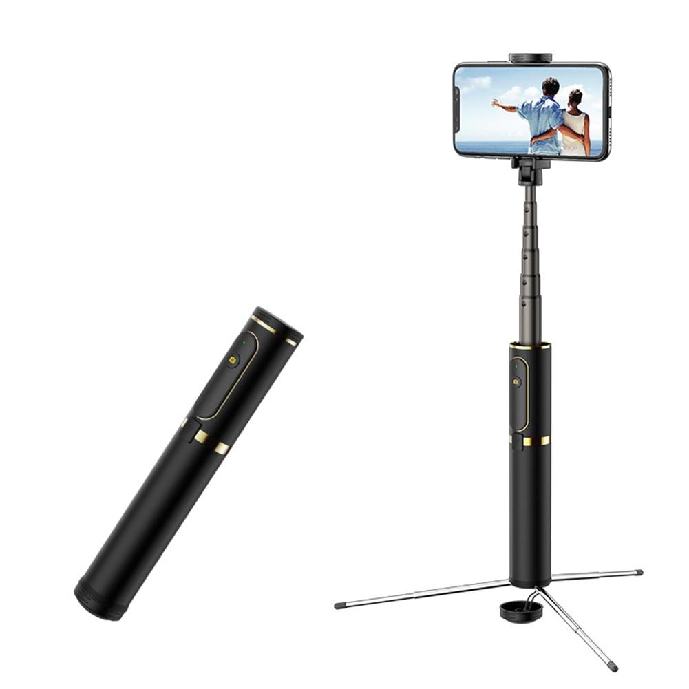 Best 360°Rotation ABS Selfie Stick Tripod Portable Wireless Bluetooth Monopod Mini expandable Sticks for universal phone