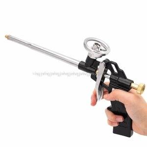 Image 3 - Manuale DELLUNITÀ di elaborazione di Schiuma Spray Gun Heavy Duty Buon Isolamento FAI DA TE Professionale Applicatore Schiuma Pistola JUN28 dropship