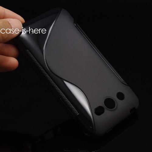 Free Shipping S-Line TPU Gel Skin Cover Case For Huawei Mercury M886 / Honor U8860