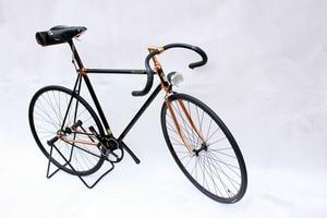 خمر دراجة الدراجات 700c الدراجة الطريق الدراجة الثابتة والعتاد سرعة واحدة 700c خمر دراجة