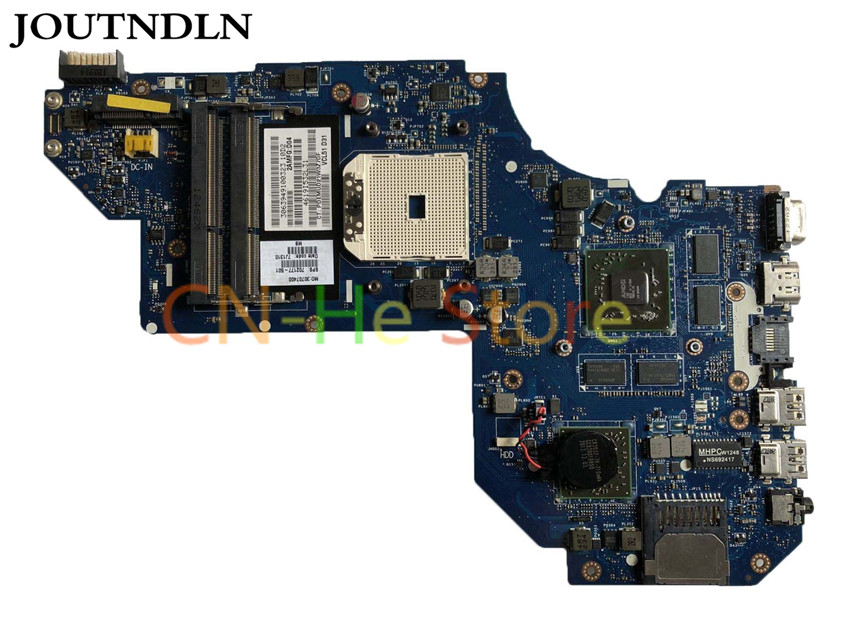 FOR HP Envy M6 M6-1000 Laptop Motherboard 702177-501 702177-501 QCL51 <font><b>LA</b></font>-<font><b>8712P</b></font> W/ HD7670M 2G GPU 100% work image