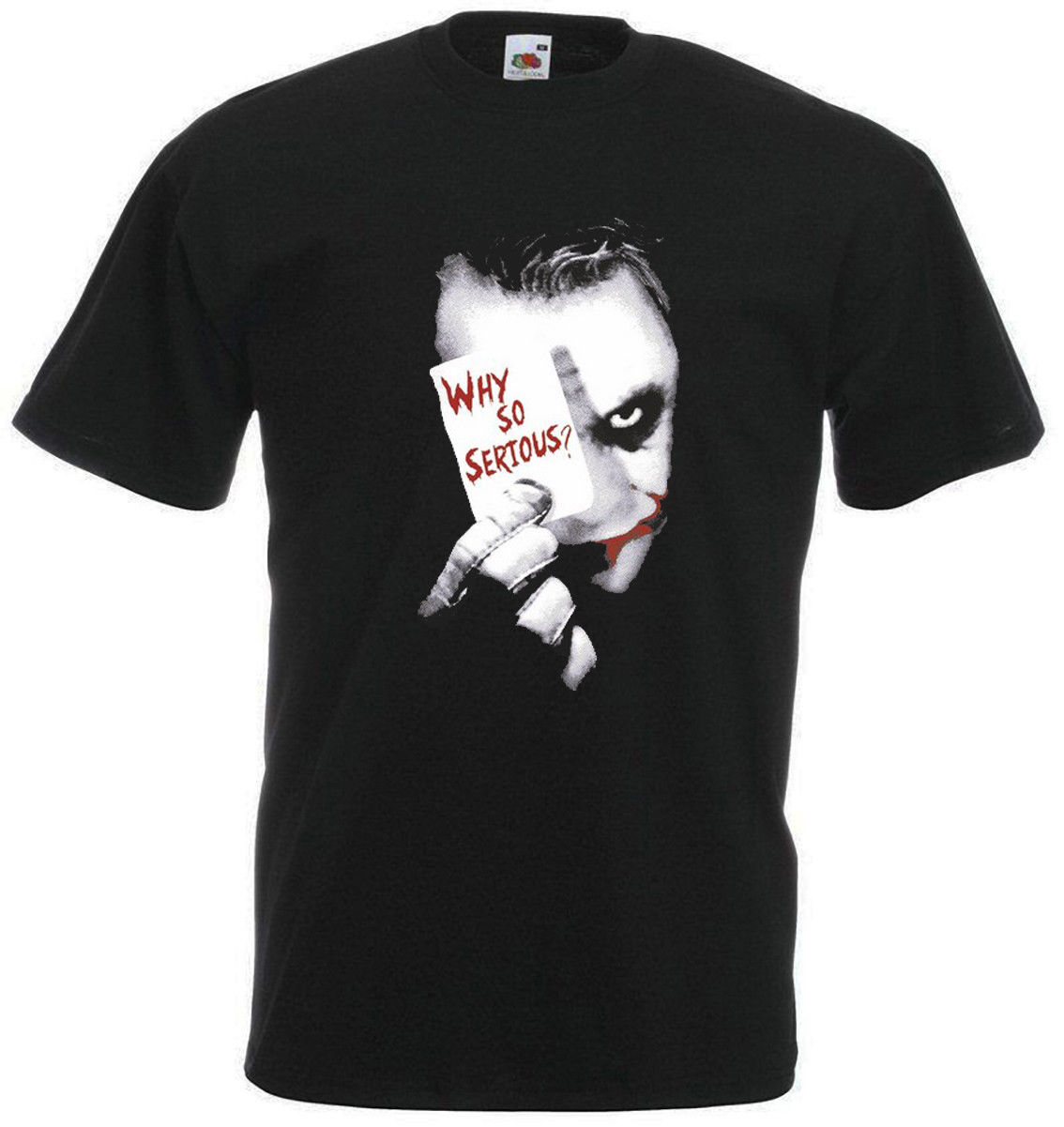 JOCKER WHY SO SERIOUS T-Shirt Tee New
