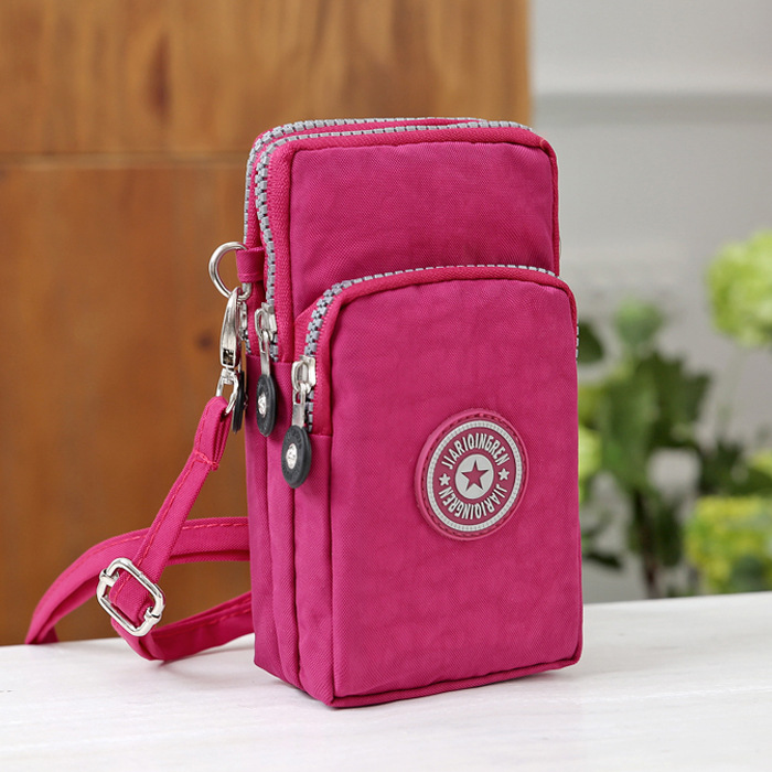 HTB1dyMNgrZnBKNjSZFKq6AGOVXaP - Small Shoulder Bags High quality Female nylon phone Bags mini Women Messenger Bags Women Clutch New