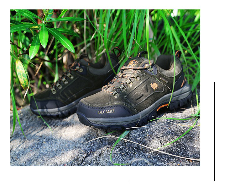 High Quality leather hiking