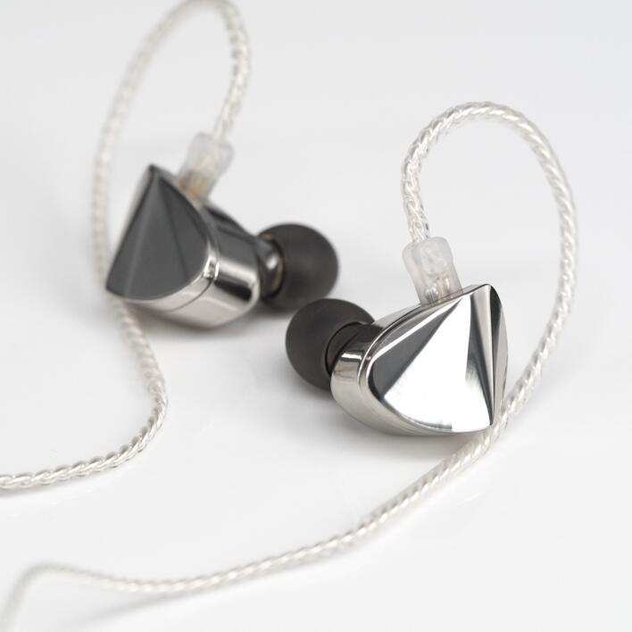 AK Moondrop KXXS Diamond Orthodynamic HiFi Monitor In Ear Earphone DJ Sport Earbud Headplug with 4N