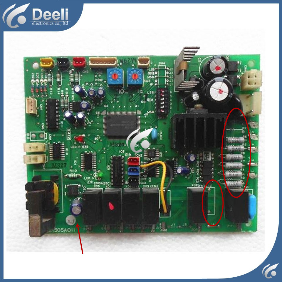 95% new good working for air conditioning Computer board PCA505A011 AJ PCA505A011 AL board 95% new for haier refrigerator computer board circuit board bcd 198k 0064000619 driver board good working