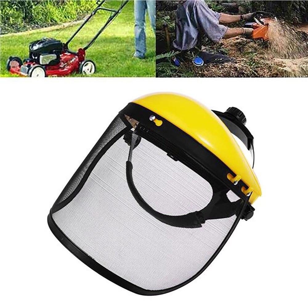 Full Face Mesh Visor Safety Helmet for Forestry Protect Safety Hat