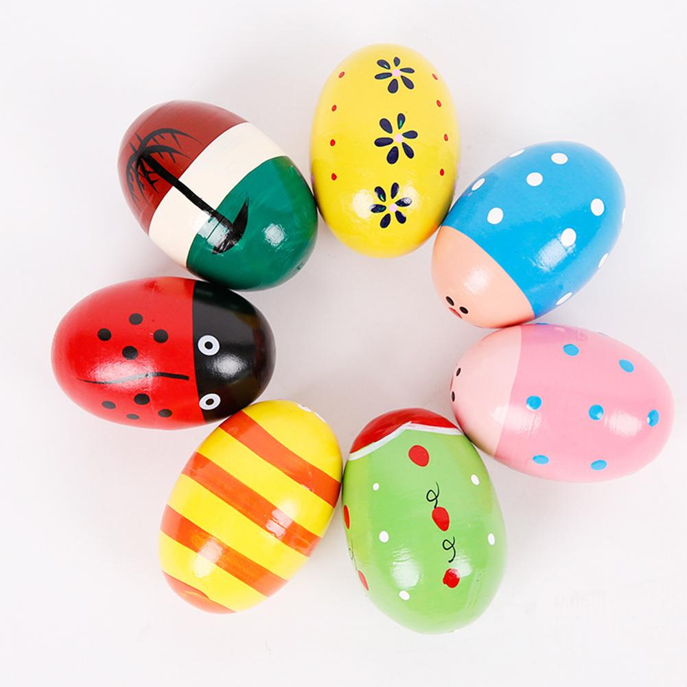 Six Easter Egg Crate Bouncy Rubber Toy Eggs Pretend Play Food Joke