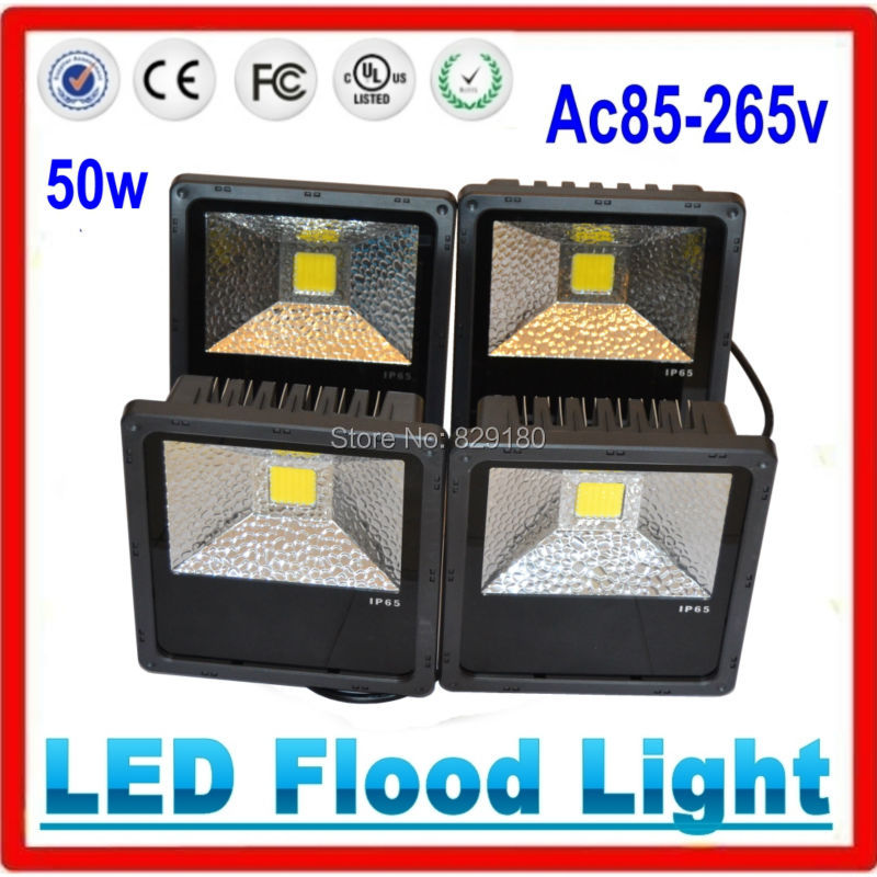 16 pieces/lot 50W LED flood light 85V-265V Warm White Cool White Red Green Blue Waterproof Spotlight Floodlight Outdoor Lighting wholesale 2pcs lot 18w led underground light stainless steel blue green red yellow for private garden spotlight led luminaria