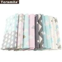 12 conceptions 100% Coton Tissu TERAMILA Literie Patchwork Tissu Pour Quilting Tissu À Coudre Bricolage Matériau Textile de Maison