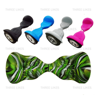 Anti Scratch 2 Pcs 10 Inch 2 Wheels Self Balancing Electric Scooter Silicone Case Sleeve Wrap