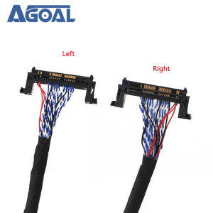 Image 2 - FI RE51P 2 ch 8 bit Dual 8 51Pins LVDS Cable for LCD panel Matrix Screen Panel 2 models