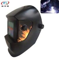 Güneş Otomatik Kararan Kaynak Kask kaynak ekipmanları TIG MIG MMA Elektrik Kaynak Maskesi Kaynak Kap TRQ|auto darkening welding helmet|mask weldingwelding helmet -