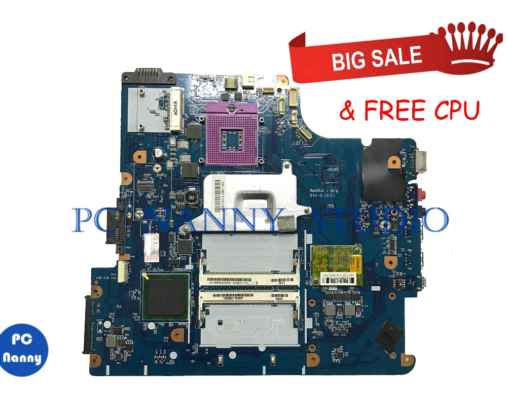 PC NANNY For VGN-NS VGN-NS20E PCG-7154M Laptop Motherboard MBX-202 A1665248A DDR3  Tested