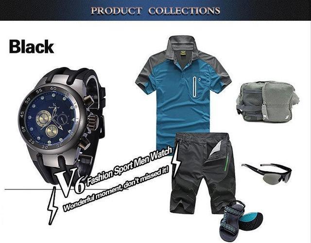 2015 New Fashion Men Sport Watch Japanese Quartz Waterproof Luxury Brand Man Wristwatches