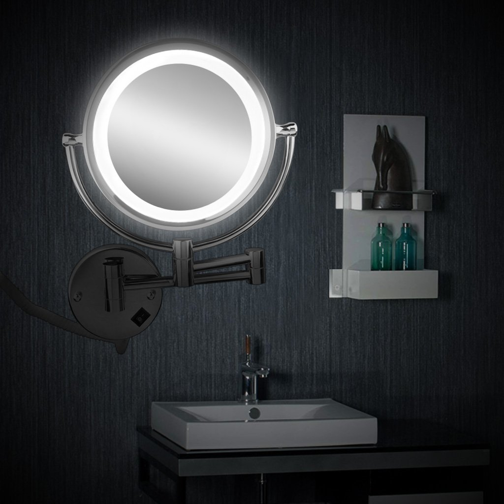 Cheval mirror vanity cosmetic mirror LED Illuminated 7x Zoom Magnification Mirror Makeup 8.5 inch club cheval club cheval discipline remixes 180 gr